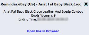 Cropped screenshot showing a desktop alert